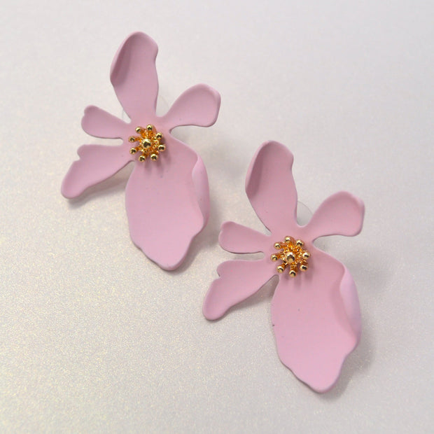 Isabella Floral Earrings-jewelry-Astor Chic