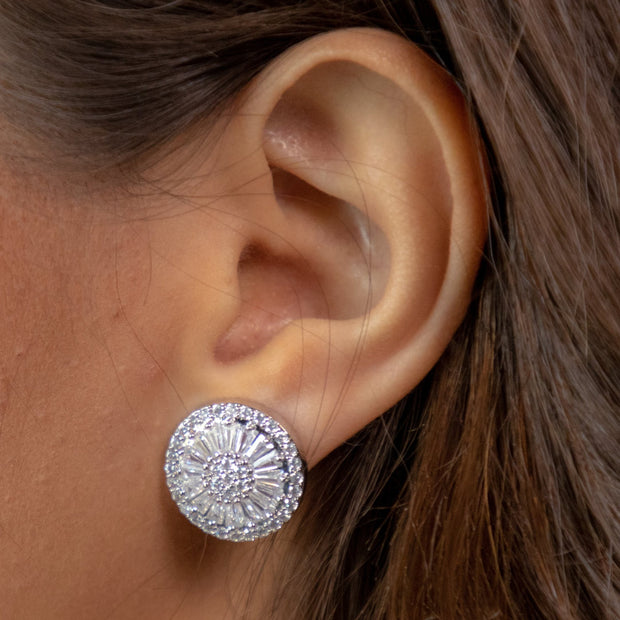 Larissa Crystal Earrings-jewelry-Astor Chic