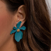 Lucia Floral Earrings-jewelry-Astor Chic