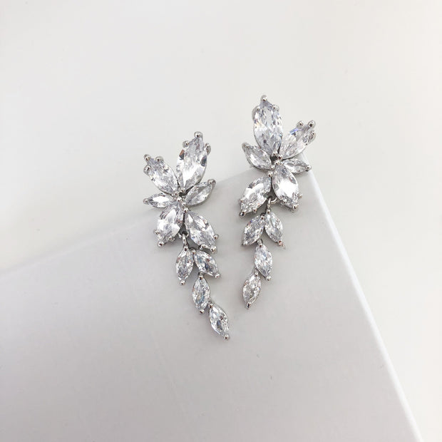 Lola Marquise Drop Earrings