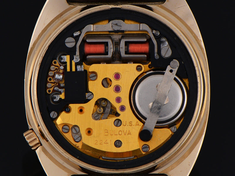 "Bulova Accutron ""Accuquartz"" 2241 Tuning Fork Watch Movement"