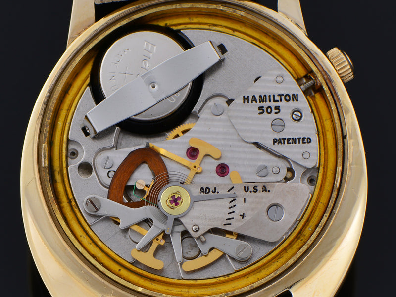 Hamilton Electric Spectra Employee Award Watch 505 Electric Movement