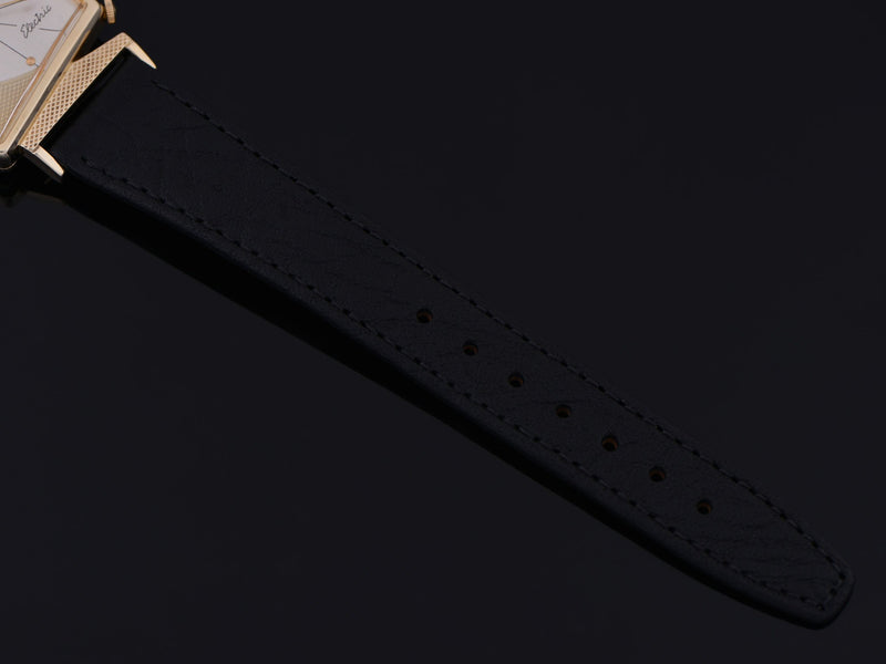 Brand New Genuine Leather Black Calf Watch Strap