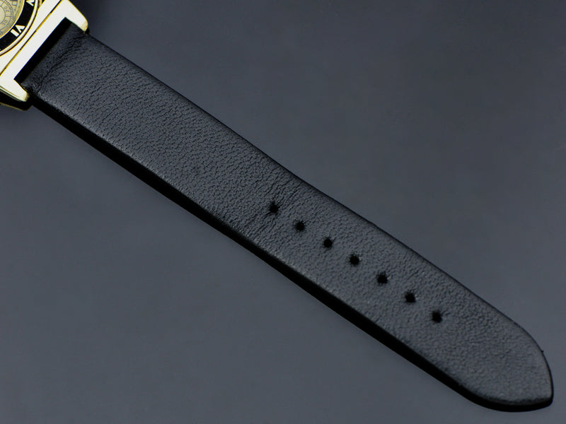 Brand New Genuine Leather Black Watch Band