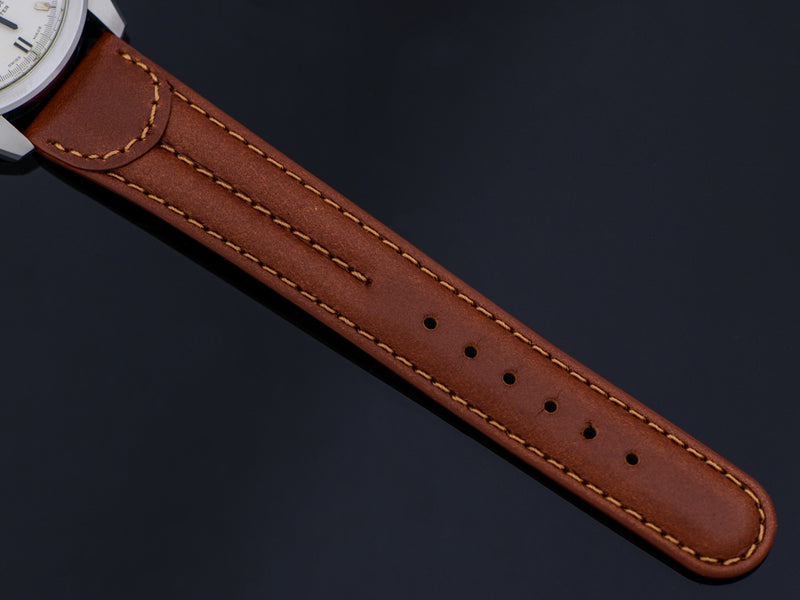 Brand New Genuine Leather Brown Watch Band
