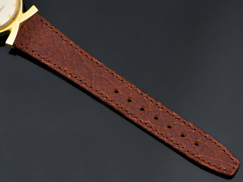 Brand new genuine Leather Brown Calf Grain Watch Band