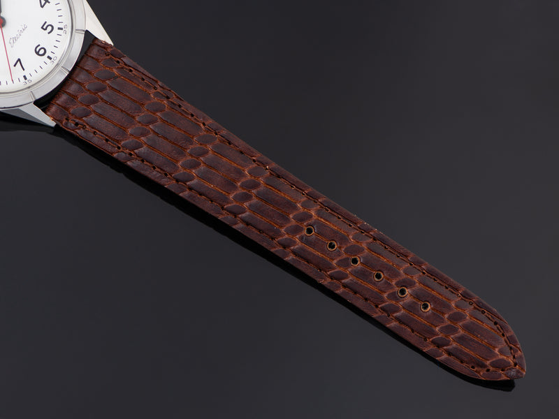 Brand new genuine Leather Brown Strap