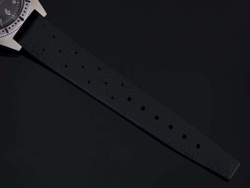 Brand new old stock rubber black strap