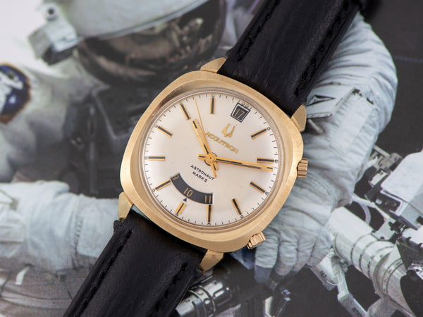 Bulova Accutron Astronaut Mark II Dual Time Zone Watch