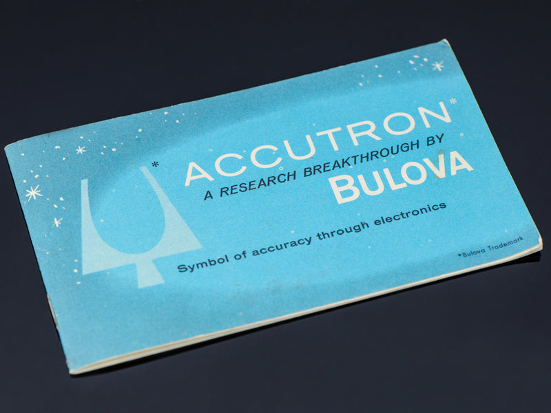 Bulova Accutron Booklet