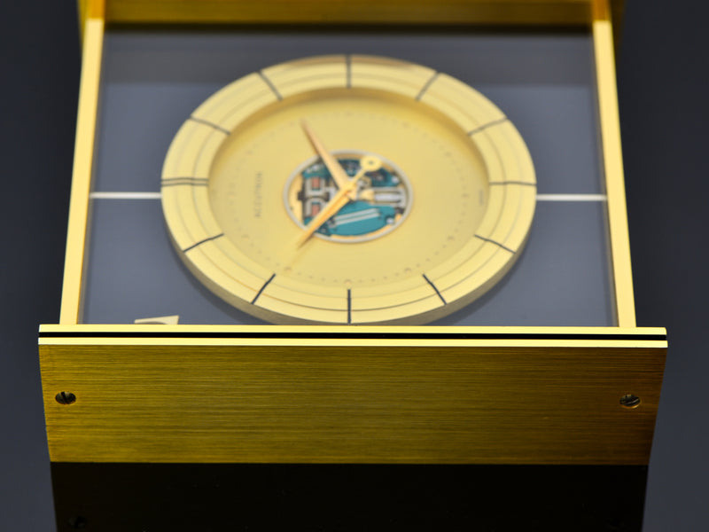 Bulova Accutron Large Desk Clock RCA Mesa Club Award 1969