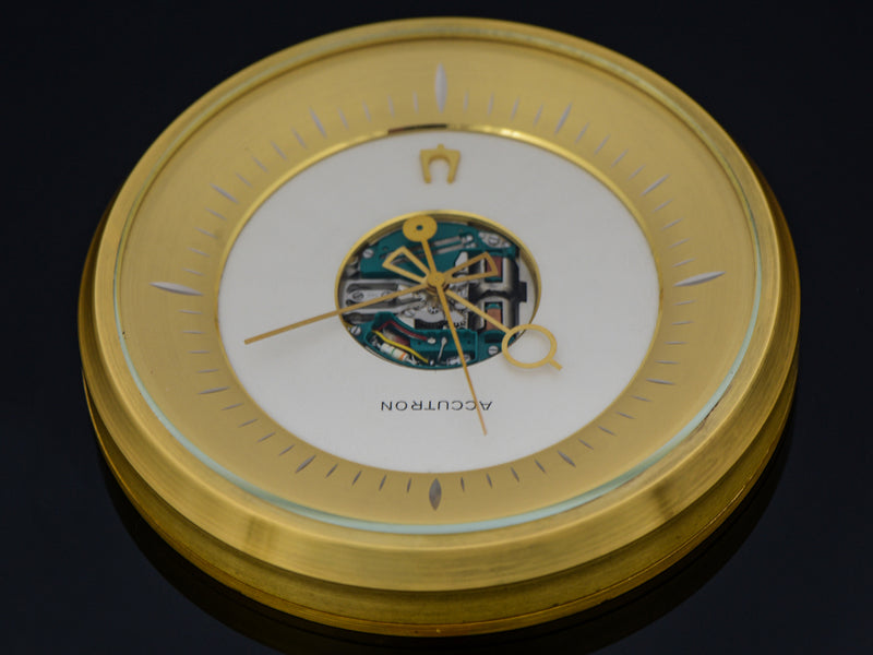 Bulova Accutron Large Desk Clock | Vintage