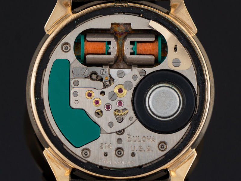 Bulova Accutron Pulsation Doctor's Tuning Fork Watch Movement