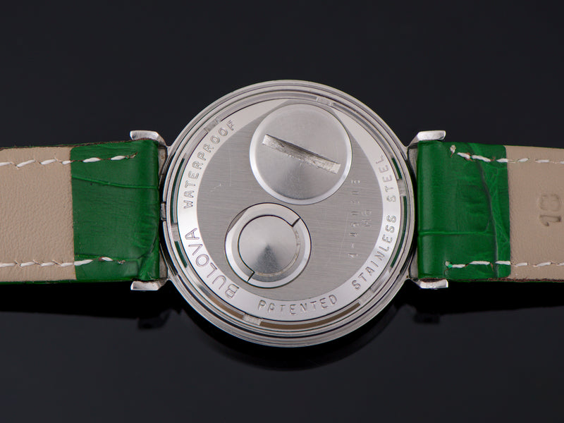 Bulova Accutron Spaceview Bowtie Stainless Steel Watch Case Back