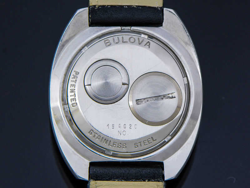 "Bulova Accutron Spaceview ""T"" Watch Case Back 