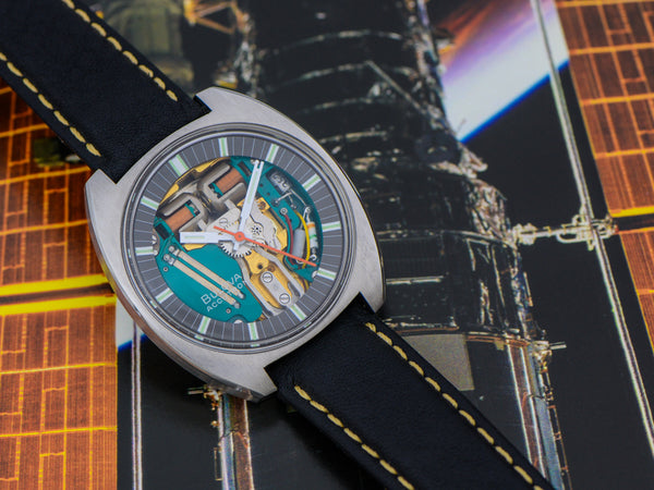"Bulova Accutron Spaceview ""T"" Watch 