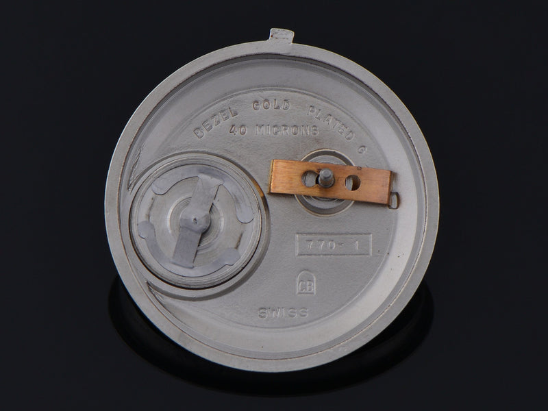 "Bulova Accutron Spaceview ""T"" Inner Watch Case Back"