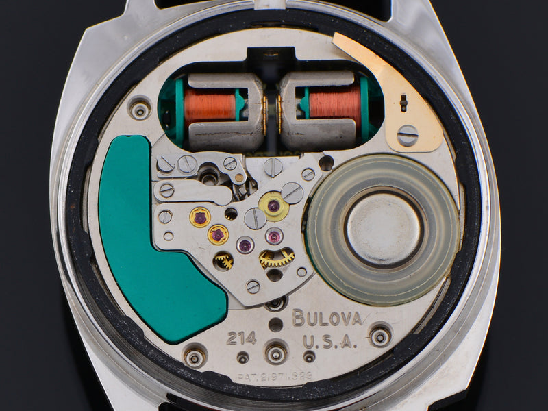 Bulova Accutron Spaceview Asymmetric Watch Tuning Fork Movement