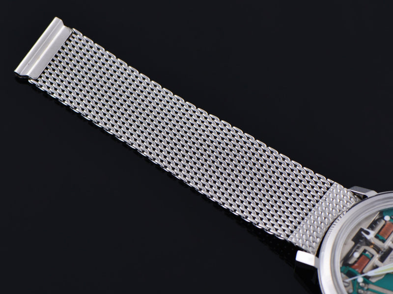 Stainless Steel Mesh Watch Bracelet