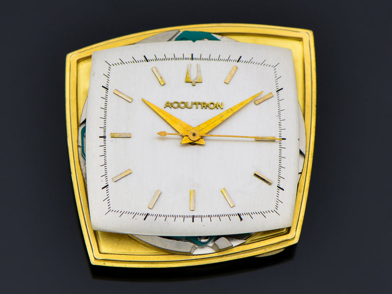 "Bulova Accutron ""TV"" Asymmetric Case Watch Dial"