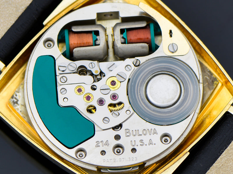 "Bulova Accutron ""TV"" Asymmetric Case Tuning Fork Movement"