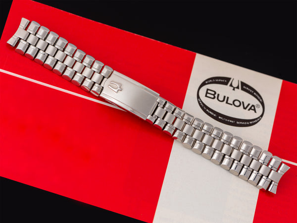 Bulova Accutron Tapered Stainless Steel Astronaut Bullet Original Watch Bracelet