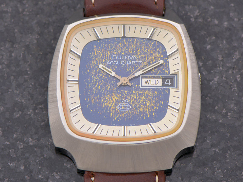 Bulova Accuquartz 100th Anniversary Steel
