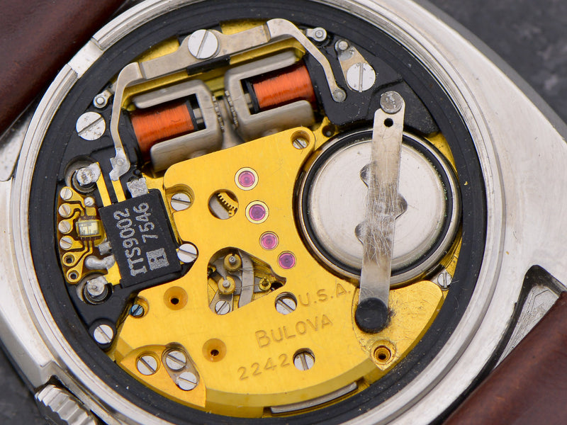 Bulova Accuquartz 100th Anniversary Steel movement