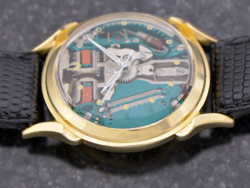 Bulova Accutron 14K Spaceview
