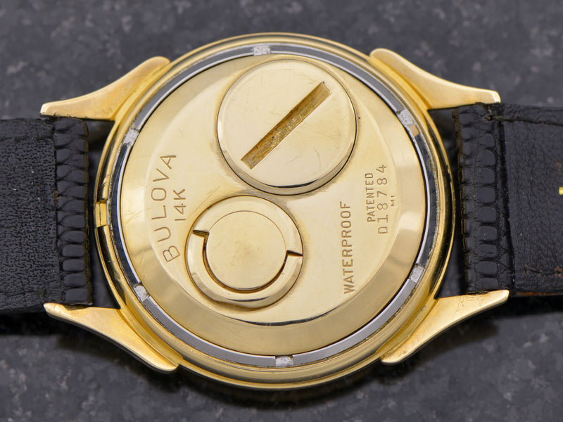 Bulova Accutron Spaceview 14K Gold