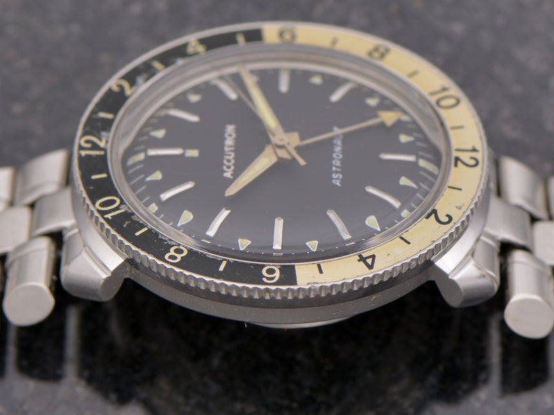 Bulova Accutron Astronaut Night/Day Bezel vintage watch