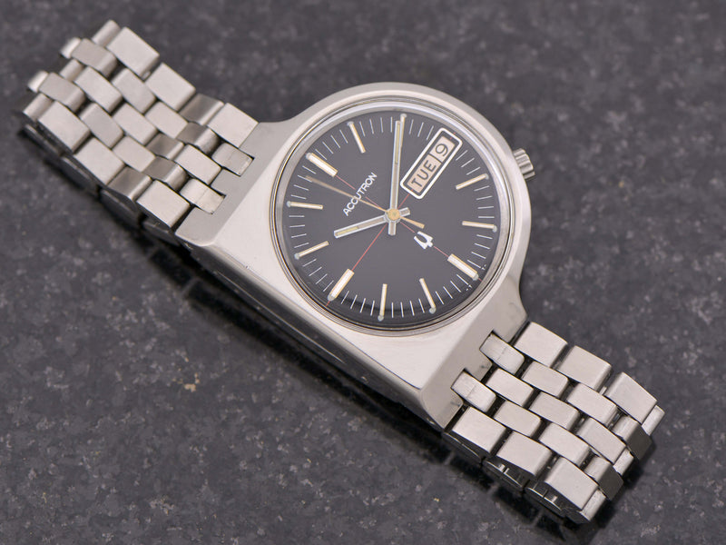 "Bulova Accutron Asymmetric ""D"" Vintage Watch"
