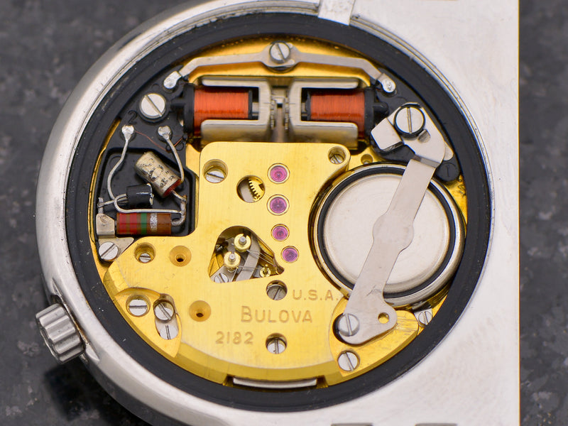 "Bulova Accutron Asymmetric ""D"" Vintage Watch Movement"