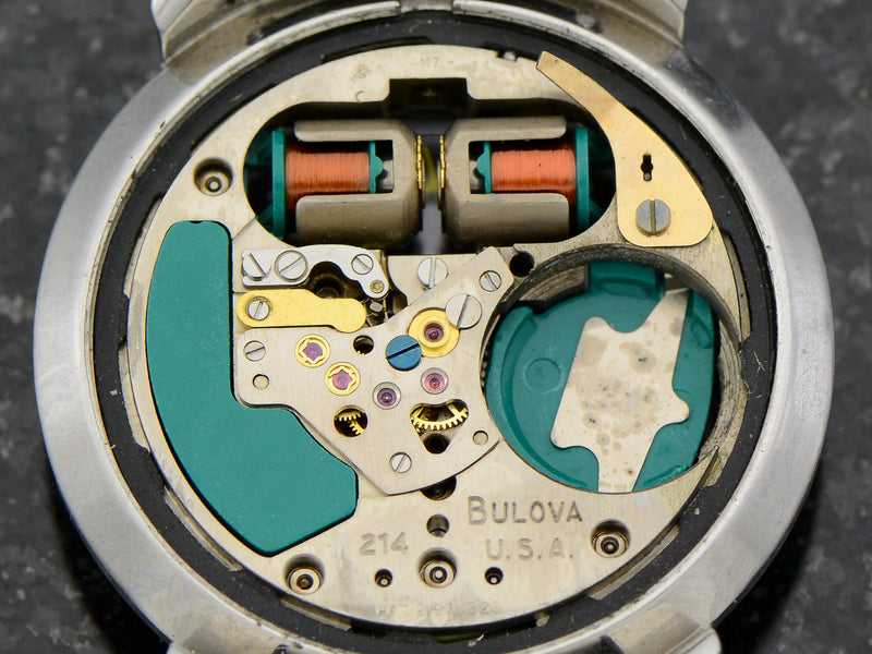 "Bulova Accutron Spaceview ""B"" Vintage Watch Movement"