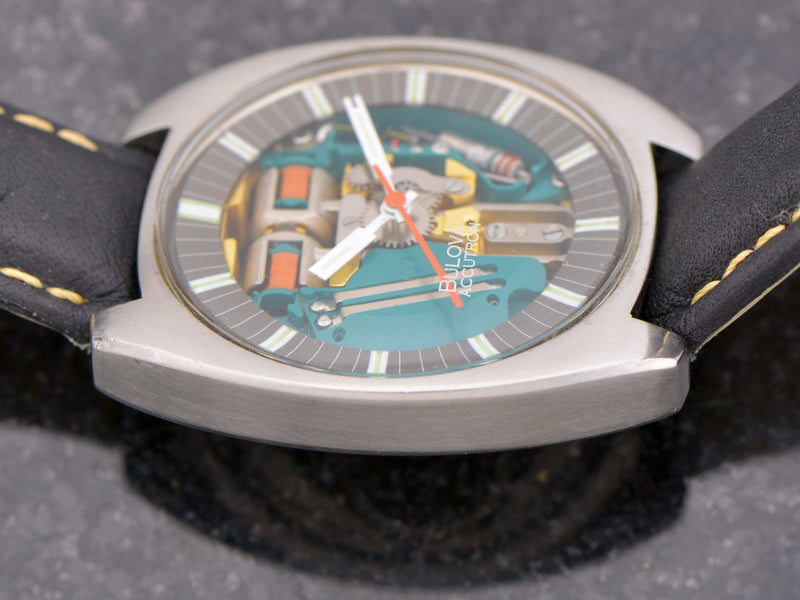 "Bulova Accutron Spaceview ""T"" Vintage Watch"