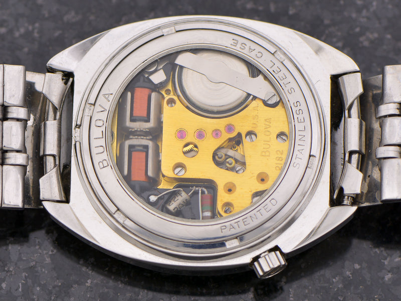"Bulova Accutron ""Up-Down"" Day/Date"