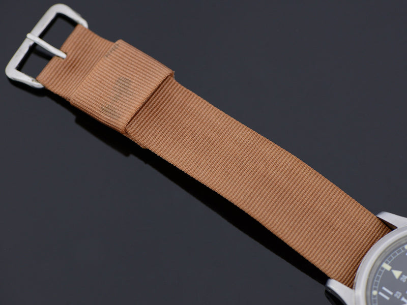 Canvas strap with Silver Tone Buckle