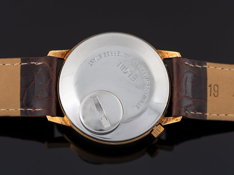Elgin Electronic 105 Watch Case Back