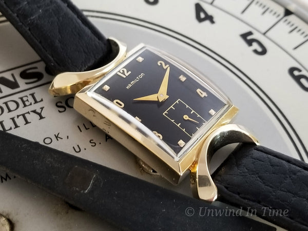 Hamilton 14K Gold Robert Watch