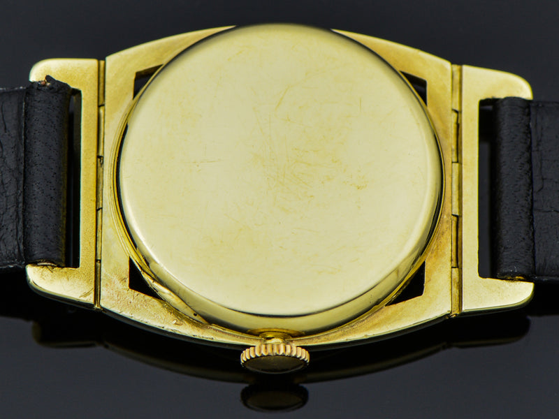 Hamilton 14K Yellow Gold Piping Rock Watch Case Back | Vintage