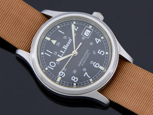 Hamilton 9721 L.L. Bean Royal Air force Automatic With Date Circa 1991 Watch