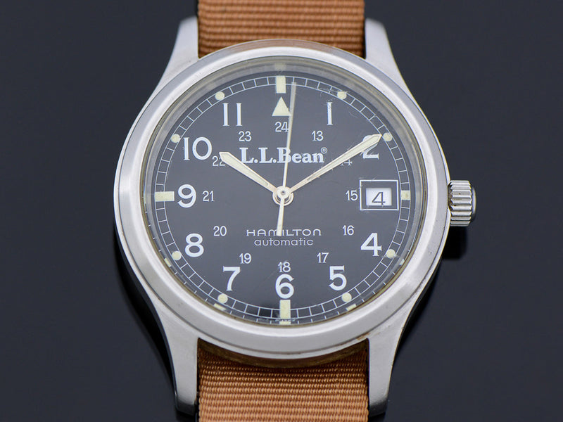 Hamilton 9721 L.L. Bean Royal Air force Automatic With Date Circa 1991