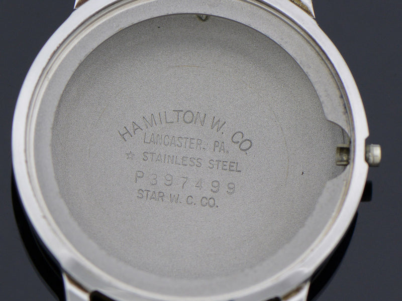 Hamilton Accumatic Watch X 667 Movement Case Back