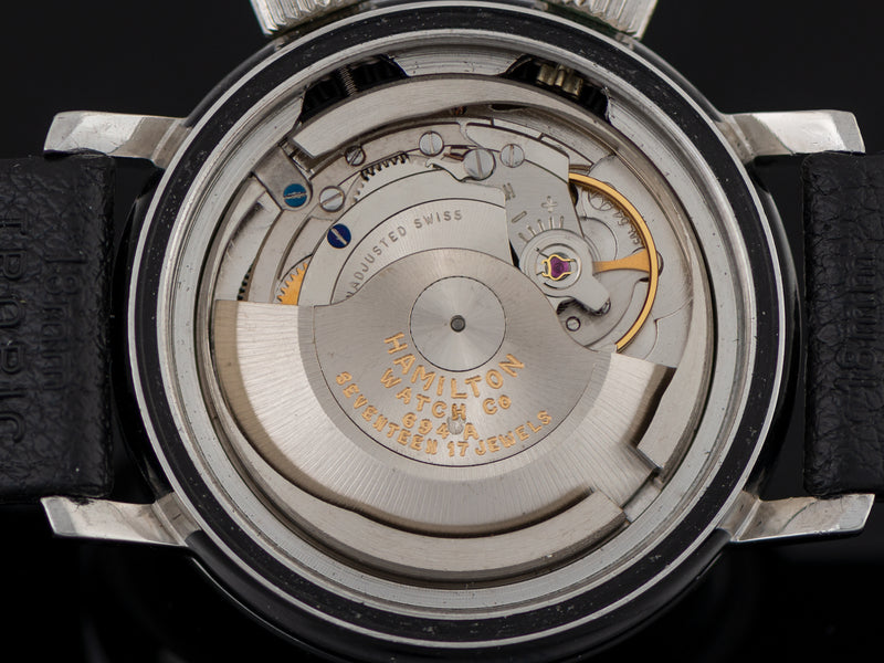 Hamilton Aqua-Date Super Compressor Automatic 694A Watch Movement