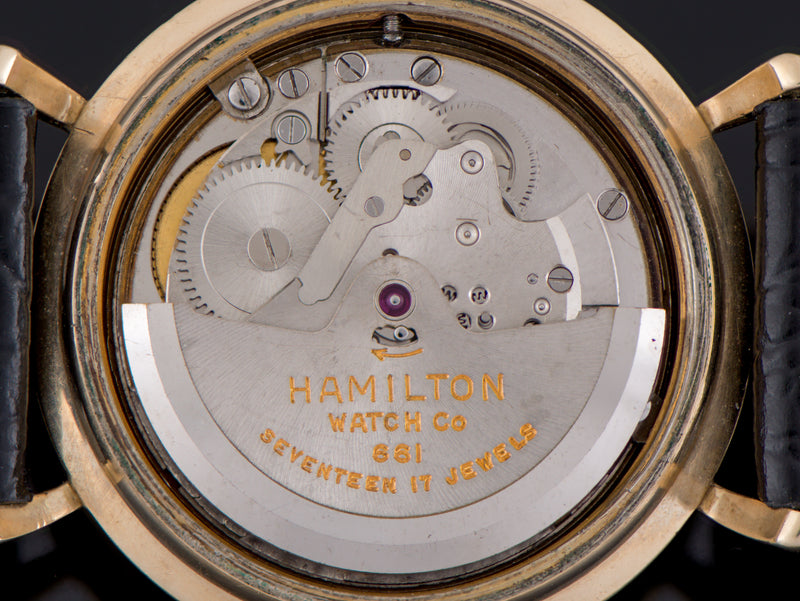 Hamilton Automatic K-454 Sputnik Automatic 661 Watch Movement