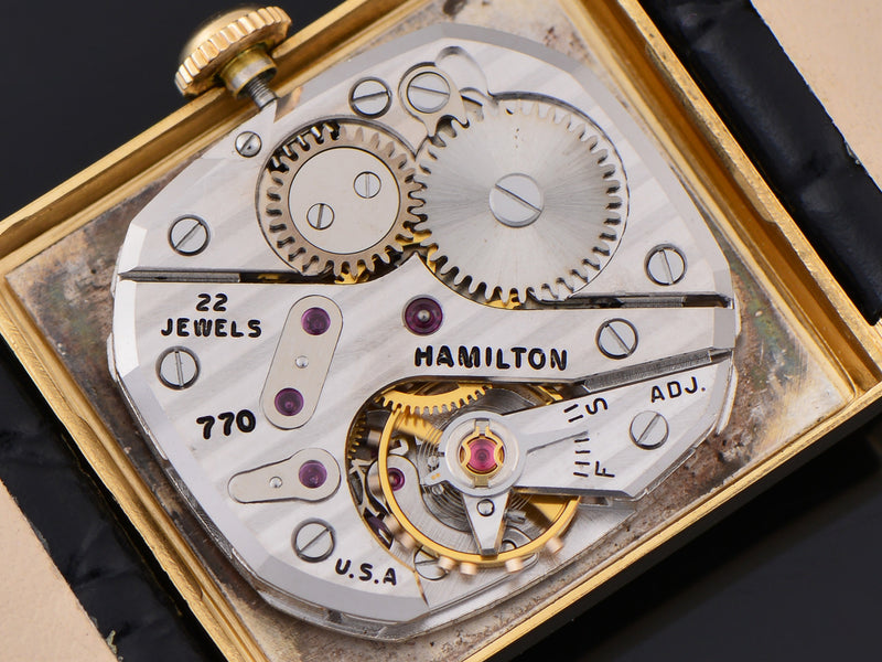 Hamilton Blade Asymmetric 770 Watch Movement