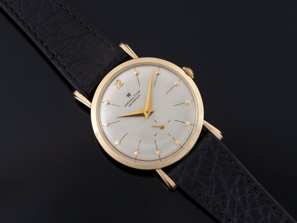 Hamilton Bradford 14K Yellow Gold Watch