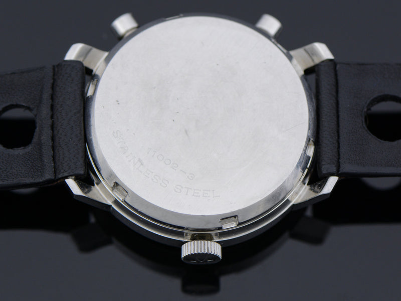 "Hamilton Chrono-Matic ""A"" Caliber 11 Automatic Panda Vintage Watch Case Back"
