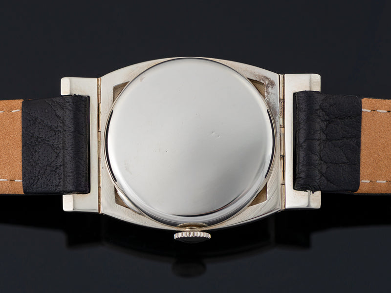 Hamilton Coronado 14K White Gold Watch Case Back