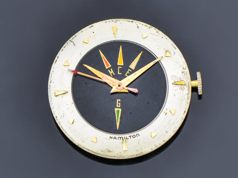Hamilton Cross Country Vintage Watch Dial